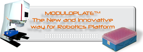 Moduloplate The new and innovative way for robotics Platform